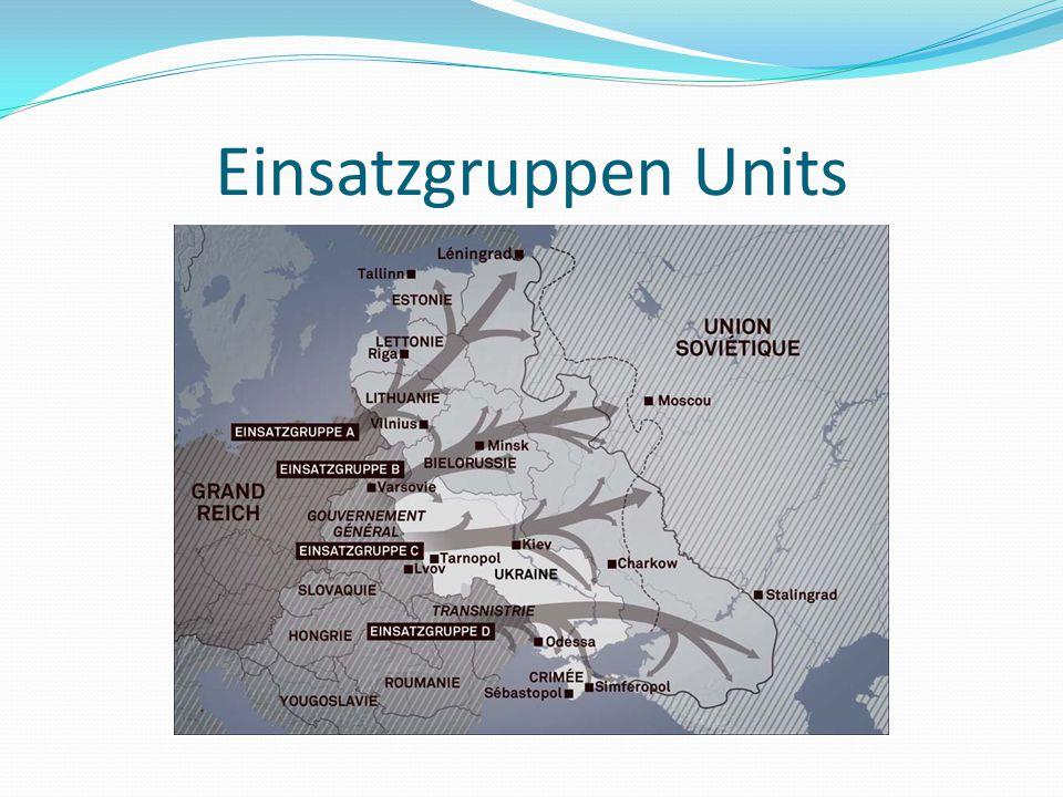 Einsatzgruppen Units