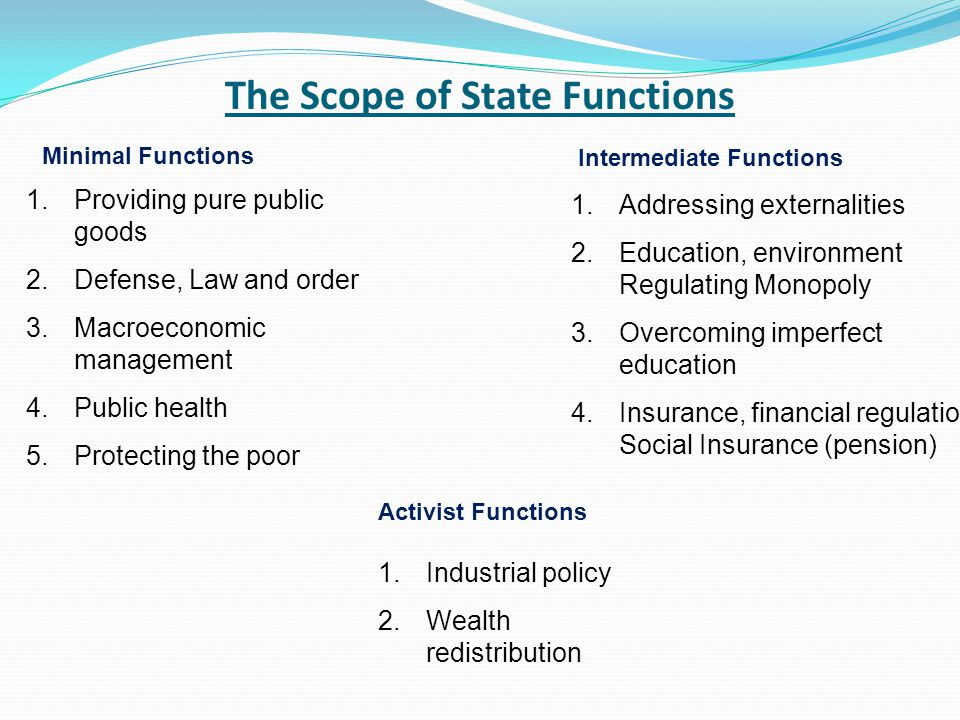 State and Government State, in its wider sense, refers to a set of institutions that possess the means of legitimate coercion, exercised over a define