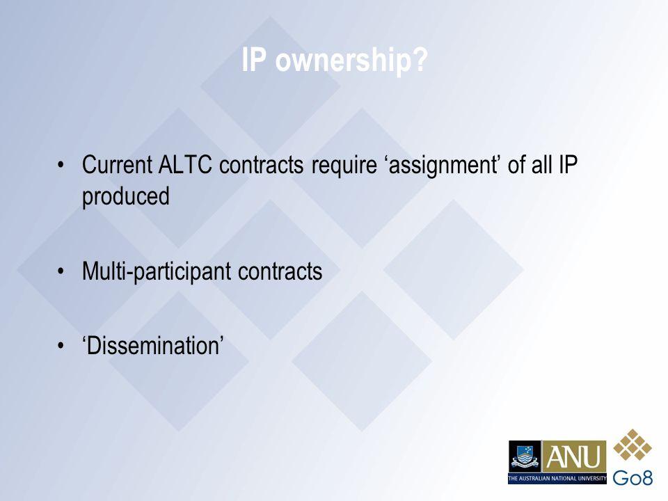 IP ownership.