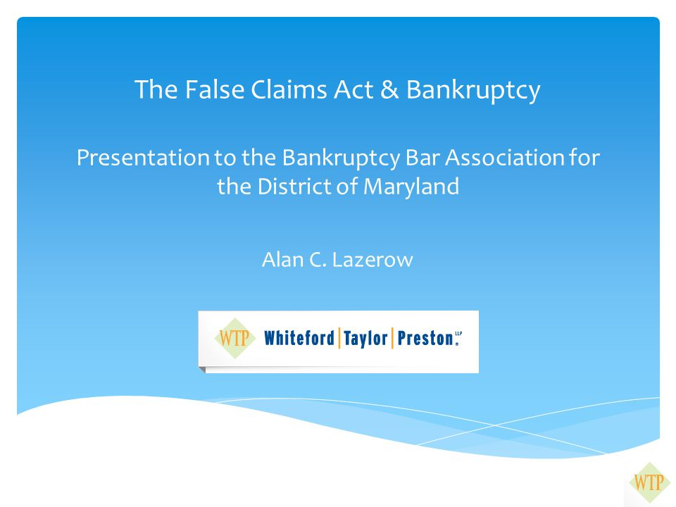 What is the False Claims Act.31 U.S.C.