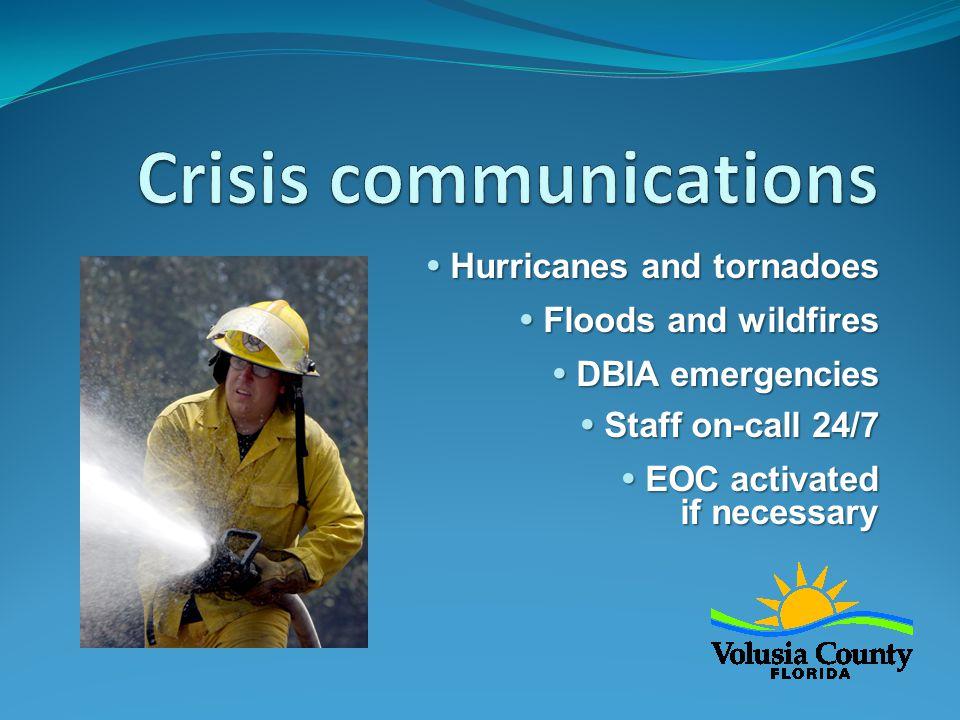  Public information  Media relations  Public information  Media relations  Disaster preparedness  Continue redesigning websites  Disaster preparedness  Continue redesigning websites