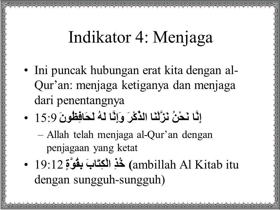 Tuntutan 2: Tarbiyah Jiwa dengan Al-Qur'an Secara bahasa TARBIYAH berasal dari kata 1.