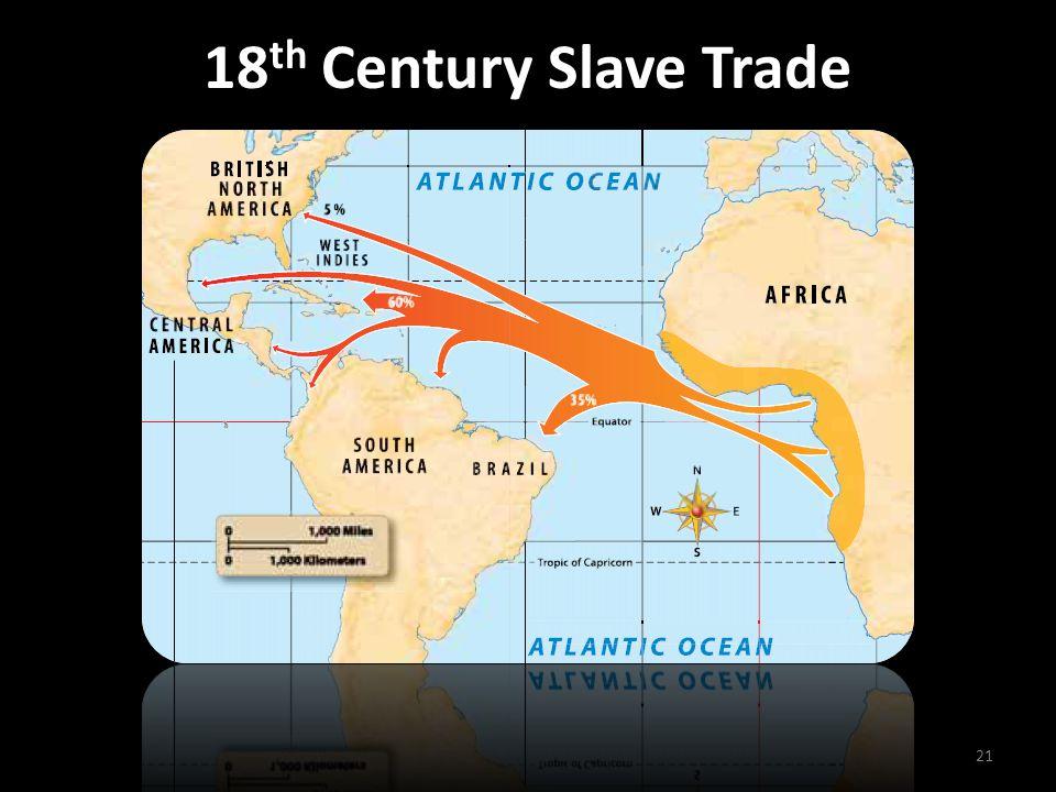 18 th Century Slave Trade 21