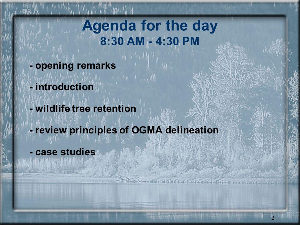 1 Landscape Unit Planning Guide Training
