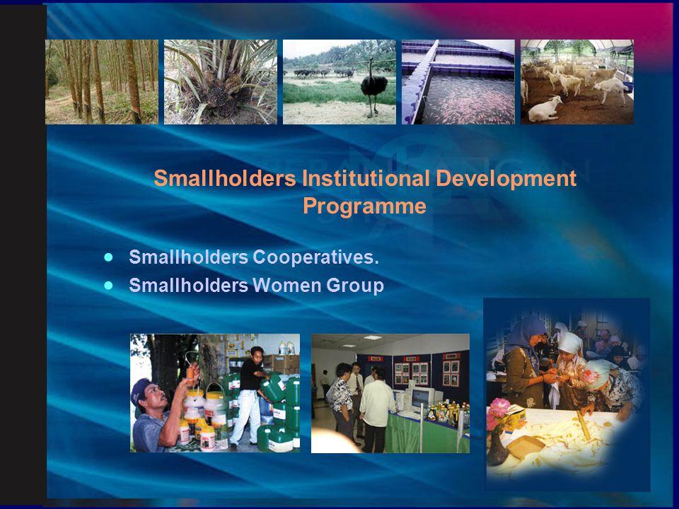 Household Members Development Programme  Training of smallholders 2nd generation.