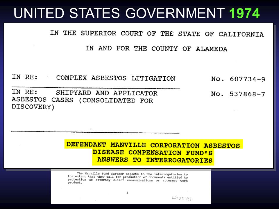 UNITED STATES GOVERNMENT 1974