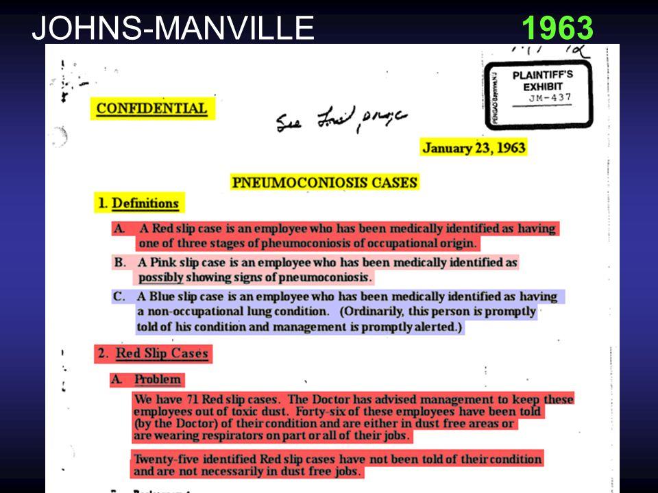 JOHNS-MANVILLE 1958