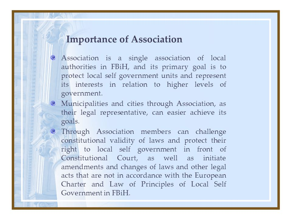 10 Main Activities Lobbying - representing and promoting interests of its members toward all levels of government, institutions and other organizations Services - informational services(web, e-bilten, e-mail) - financial services - legal services Cooperation with domestic and international organizations and institutions Platforms - Conferences, seminars, workshop and meetings - Consultations with members through Secretariat, Committees, Work Groups and other bodies of the Association.
