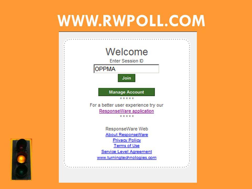 WWW.RWPOLL.COM