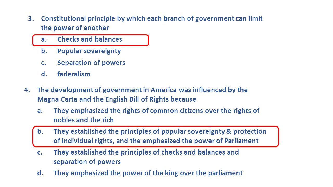 The Constitution: Bill of Rights and the Amendment process TODAY'S LEARNING OBJECTIVES: 1.Describe the principles embedded in the Constitution [8.33]  Bill of Rights  Amendment Process