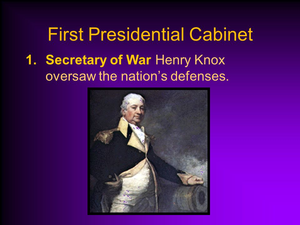 Presidential Cabinet Created Cabinet: Group of department leaders who serve the President. The first Presidential Cabinet had four departments