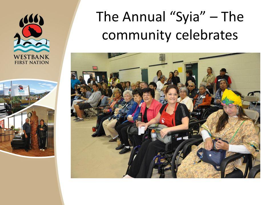 The Annual Syia – The community celebrates