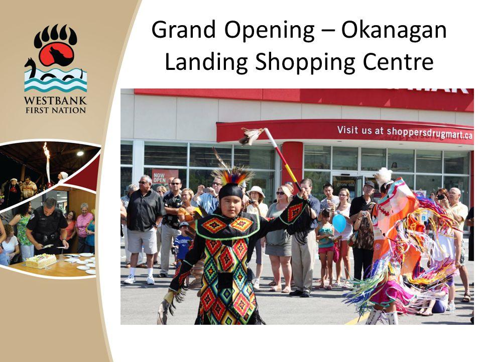Grand Opening – Okanagan Landing Shopping Centre