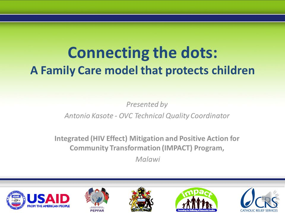 Connecting the dots: A Family Care model that protects children