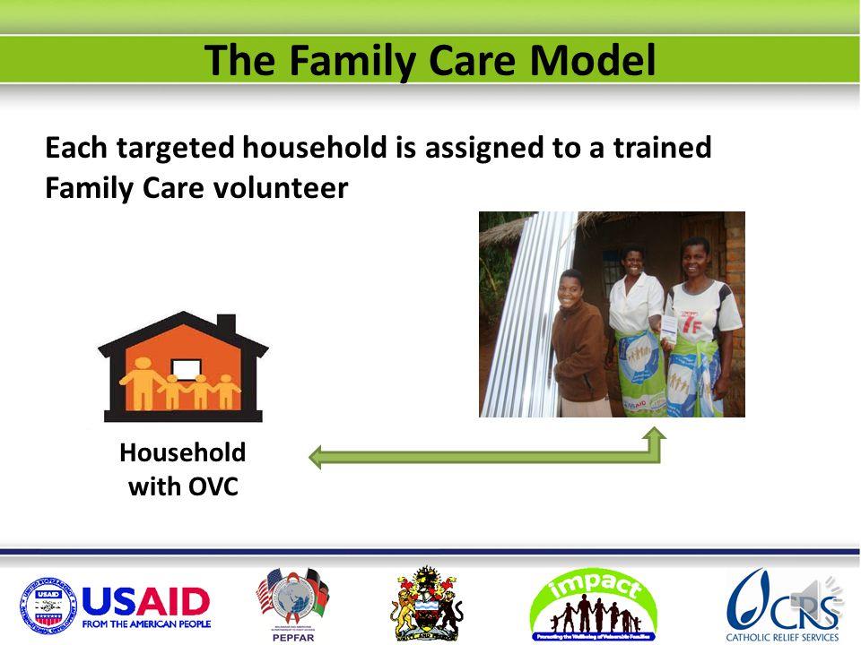 How does the Family Care model work.