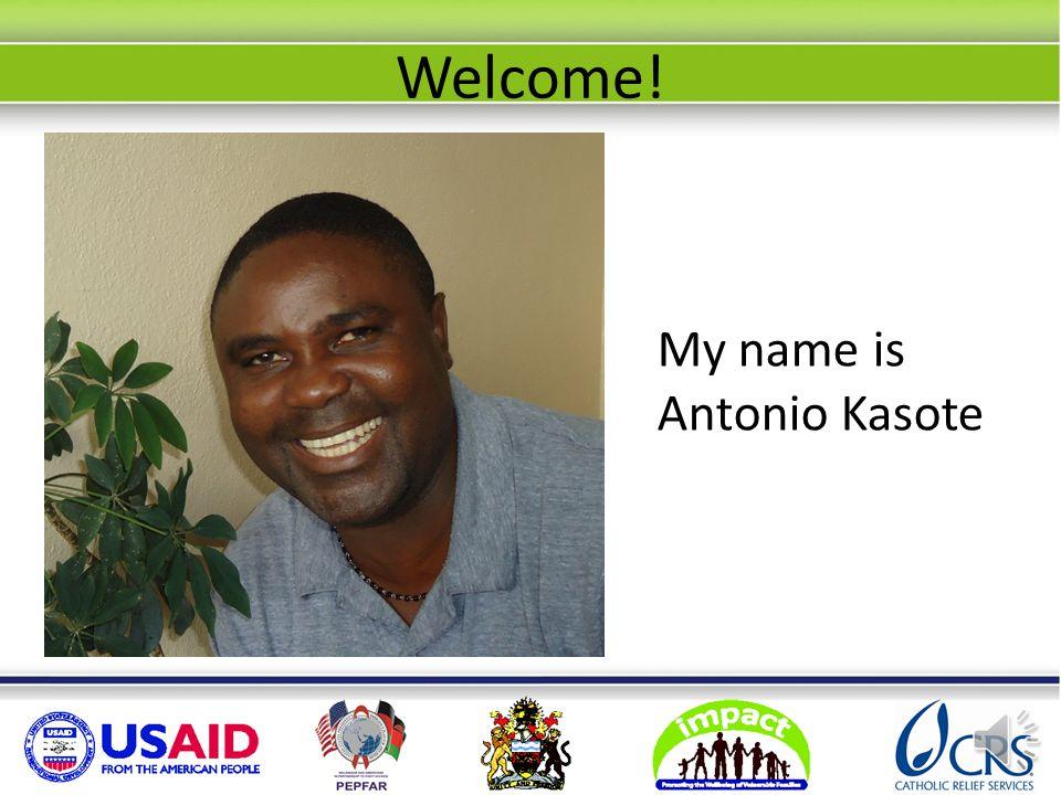 Welcome! My name is Antonio Kasote