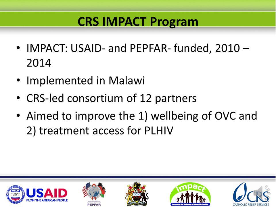 CRS IMPACT Program