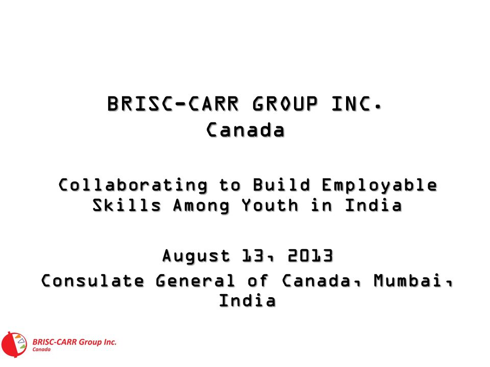 BRISC-CARR GROUP INC.