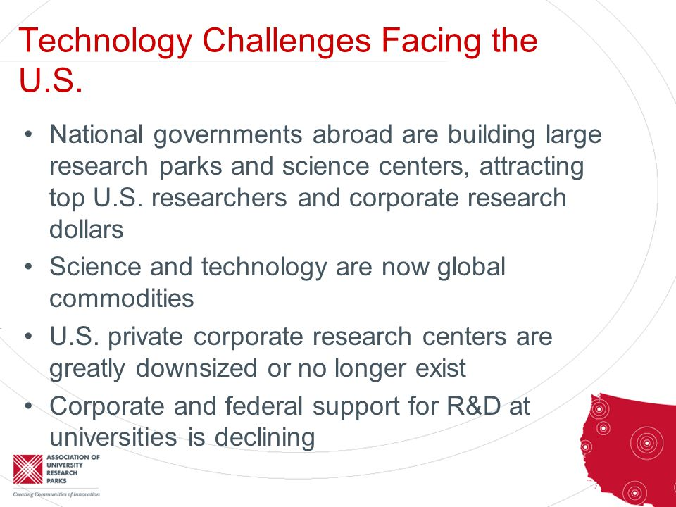 Technology Challenges Facing the U.S.