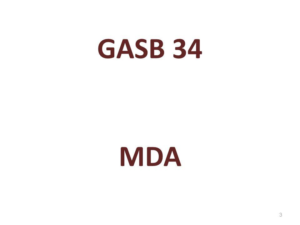 GASB 34 MDA 3