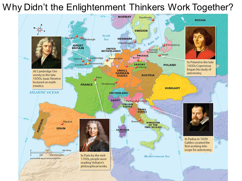 Why Didn't the Enlightenment Thinkers Work Together