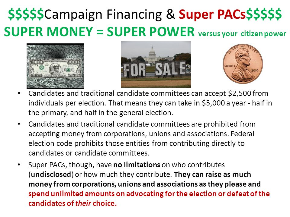 Why are super PACs so controversial.