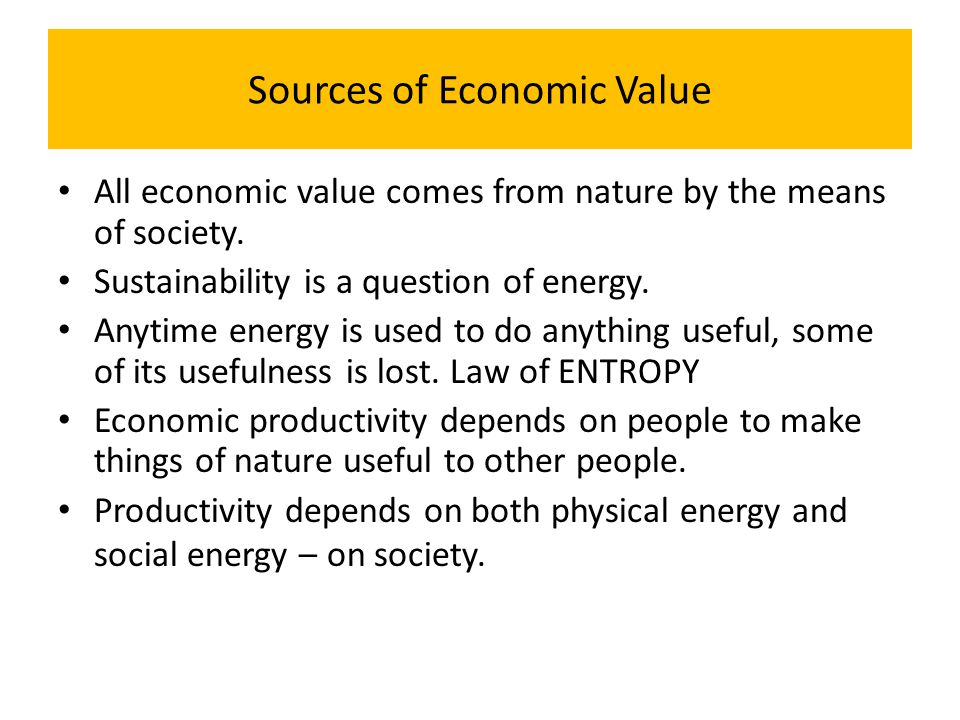 Economic Relationships Economic relationships are individual, instrumental, and impersonal.