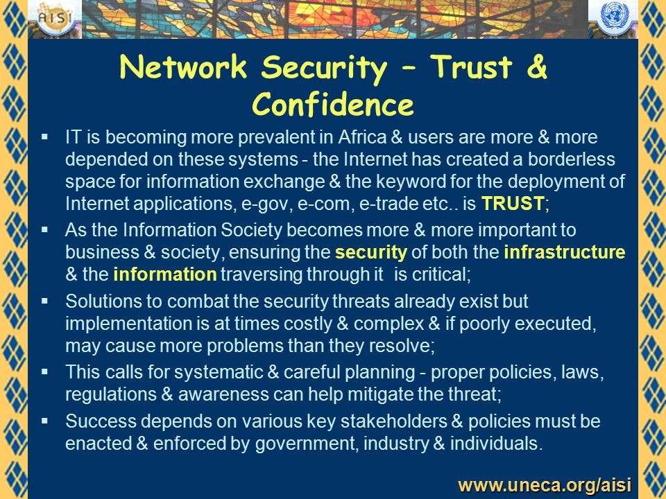www.uneca.org/aisi Policy process deliverables  Framework: Why.