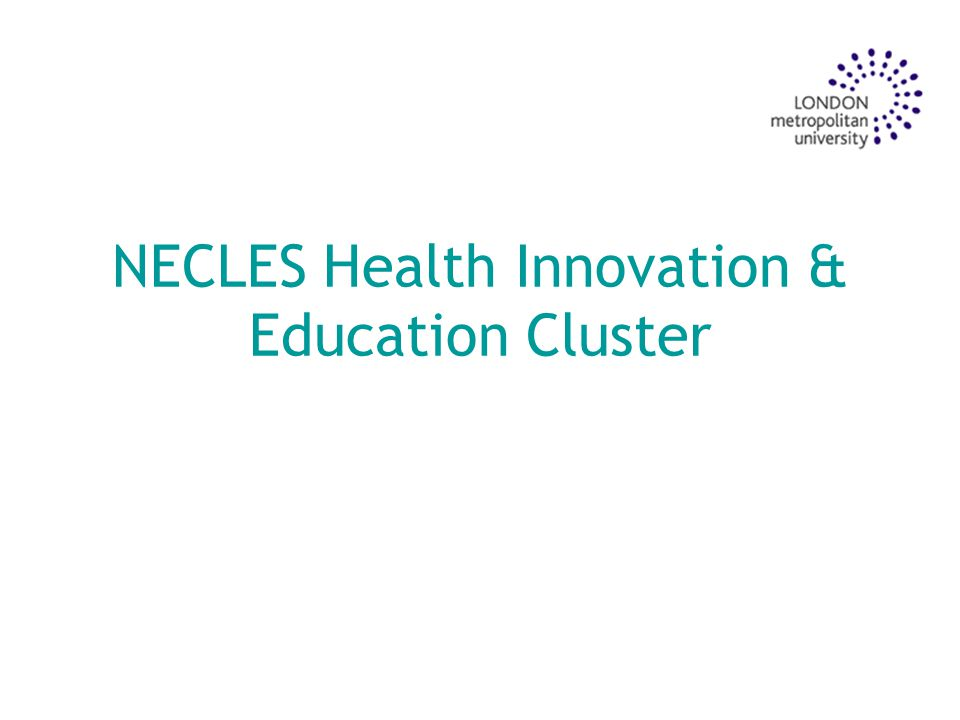 Aims To provide an overview of the development of the HIECs To consider NECLES HIEC role in tackling health inequalities