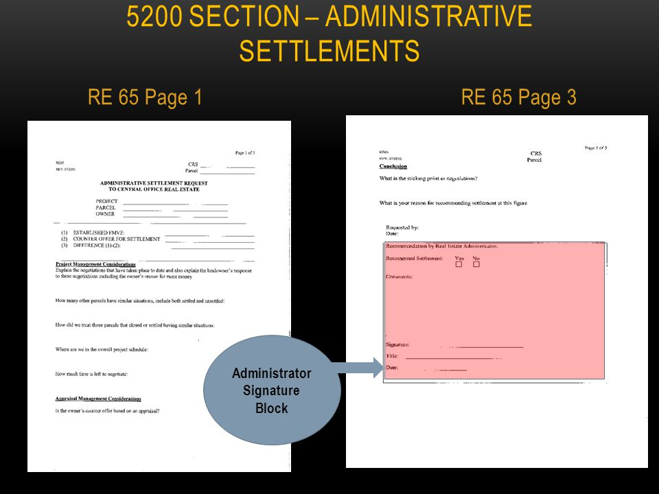 Section 5201.10 (D) Settlement Authority – LPA projects having State or Federal funds in right of way. 1.LPA has settlement authority up to $1,000 2.A