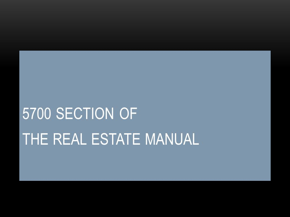 5600 SECTION – MANUAL- CHANGES Minor changes Addendum section was removed.