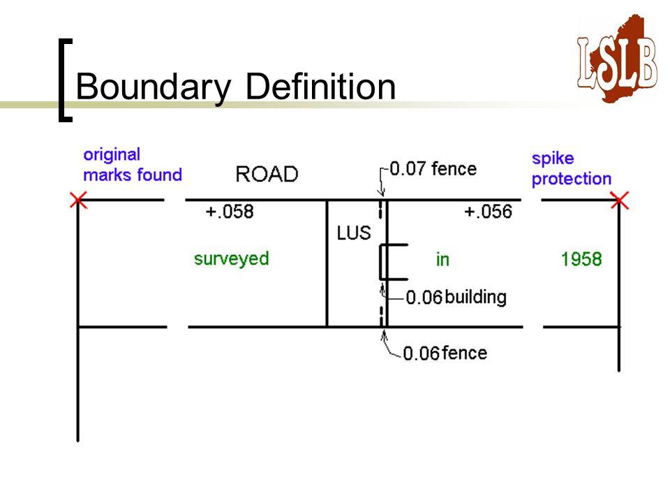 Boundary Definition