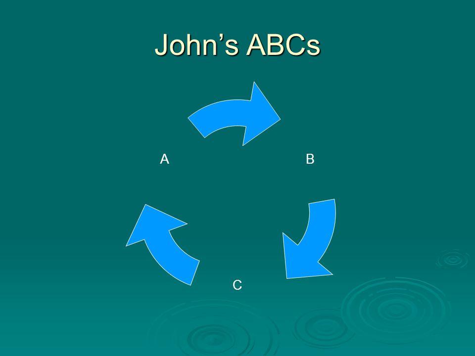John's ABCs B C A