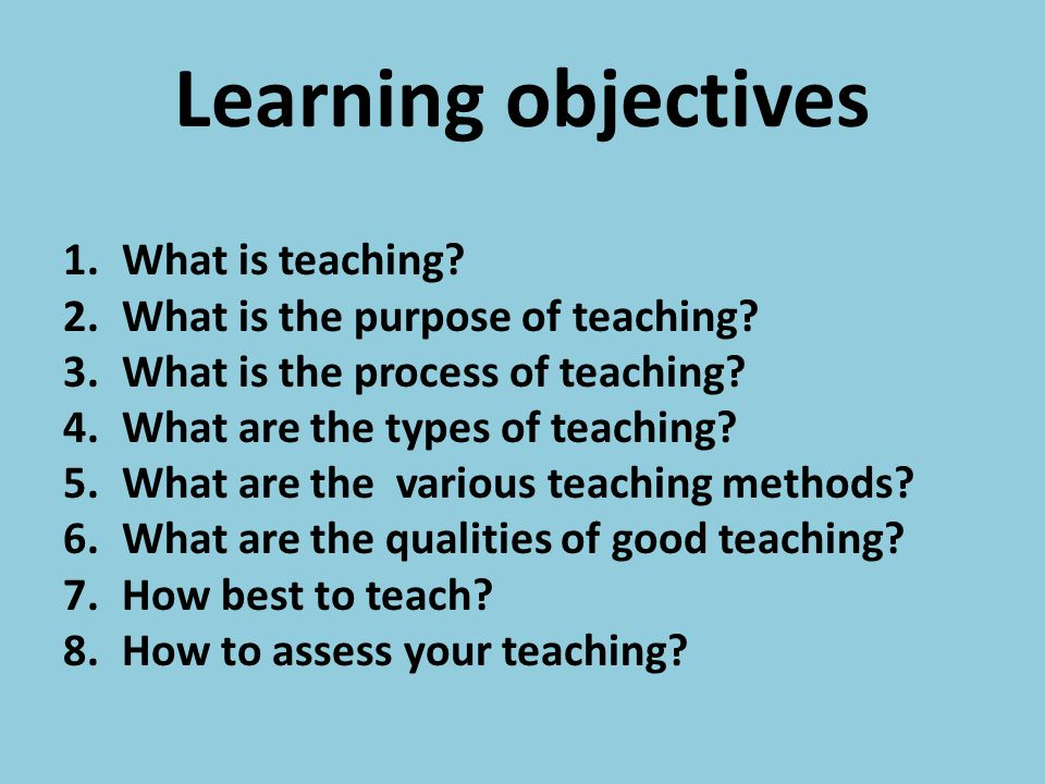 Evaluation Self designed using the understanding of the learning objectives of the lecture as criteria.