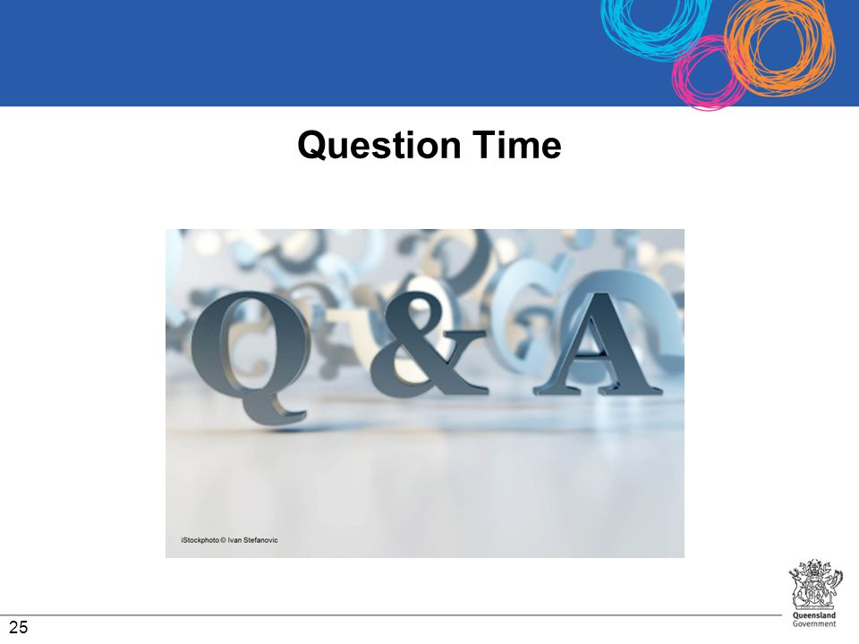 Question Time 25