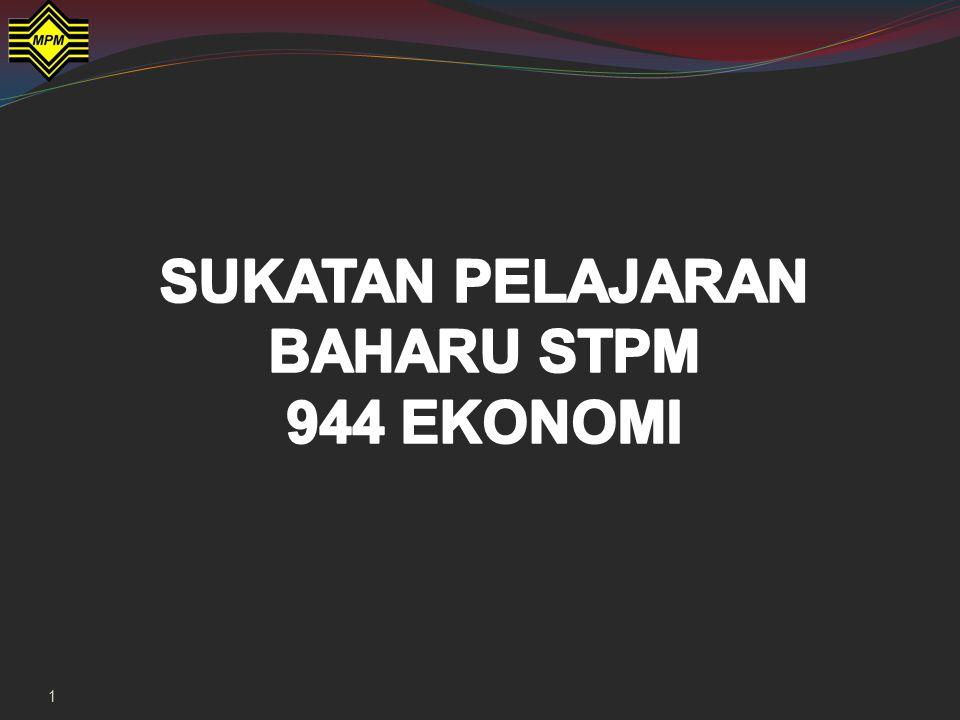 944/3 – Ekonomi Malaysia