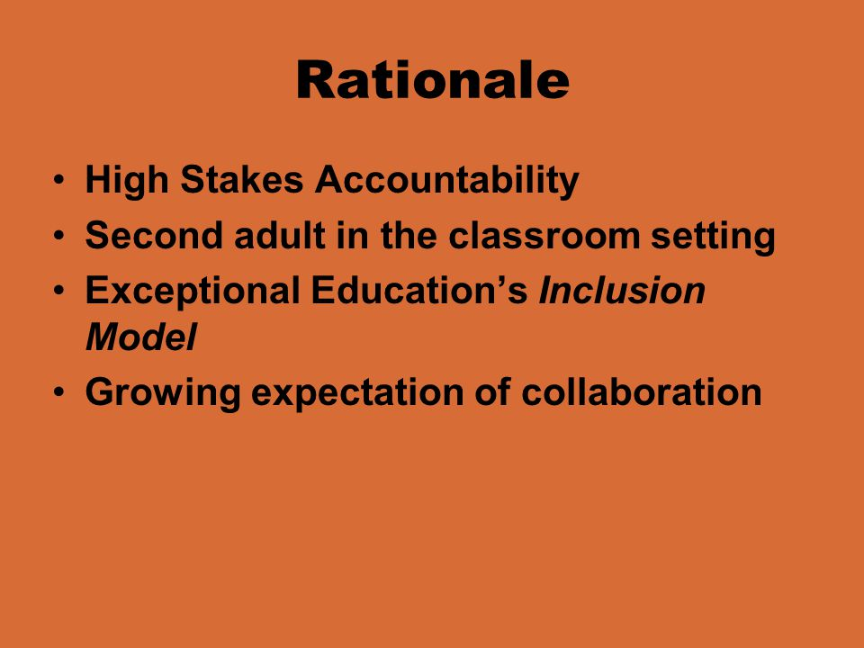History of Co-Teaching: Inclusion The inclusion classroom paved the way for Co-Teaching in the student teaching process.