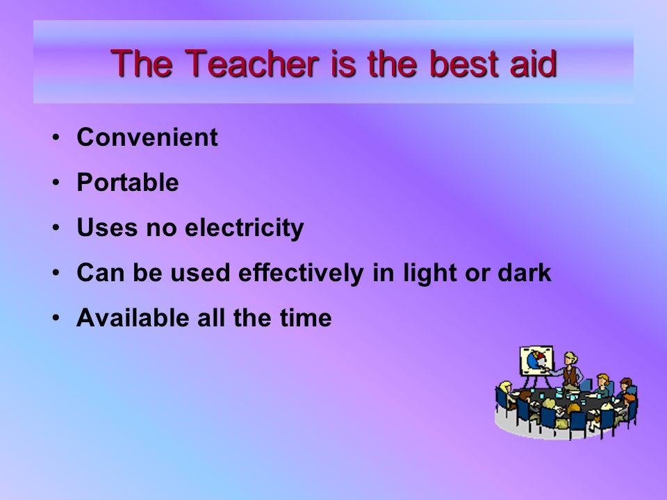 What should a teacher do.