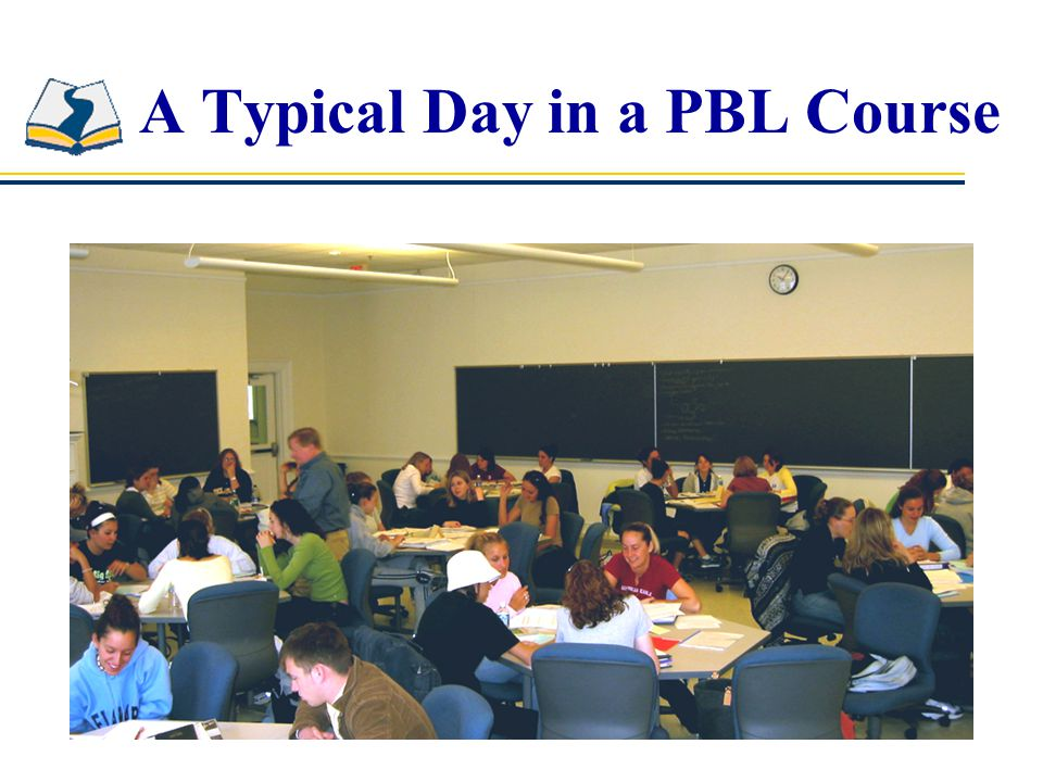 A Typical Day in a PBL Course