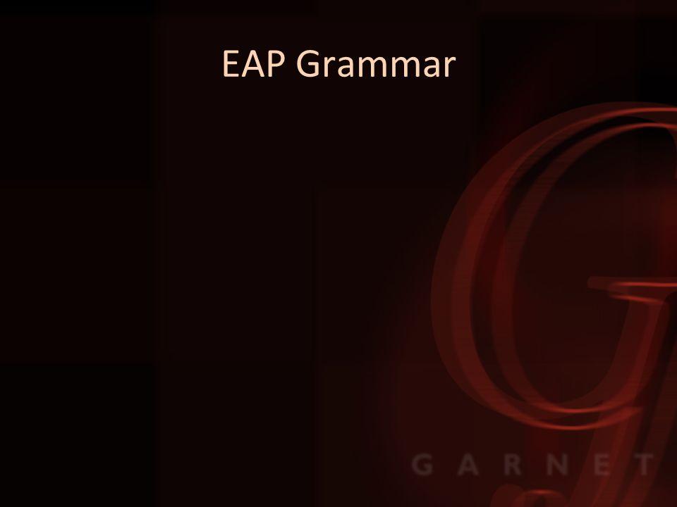 EAP Grammar