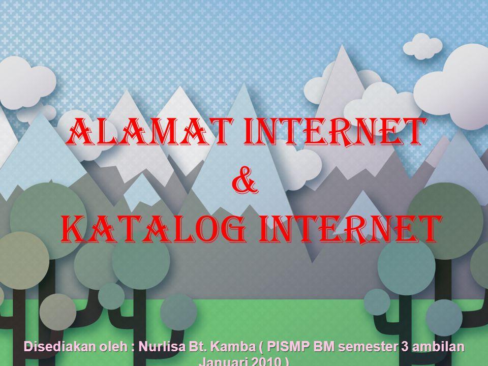 ALAMAT INTERNET Google http://www.google.com.my/ Lycos http://www.lycos.com/ Yahoo http://www.yahoo.com/ The Pirate Bay http://thepiratebay.org/ Ask http://www.ask.com/ MetaCrawler http://www.metacrawler.com/ Msn http://www.msn.com/ YouTube http://www.youtube.com/ Altavista http://www.altavista.com/ MetaCafe http://www.metacafe.com/ Bing http://www.bing.com/ About.com http://www.about.com/ Excite http://www.excite.com/ Ixquick.com http://www.ixquick.com/ Cuil http://www.cuil.com/ Dogpile http://www.dogpile.com/ HotBot http://www.hotbot.com/ Webclust http://www.webclust.com/ AllTheWeb http://www.alltheweb.com/ Genie Knows http://www.genieknows.com/
