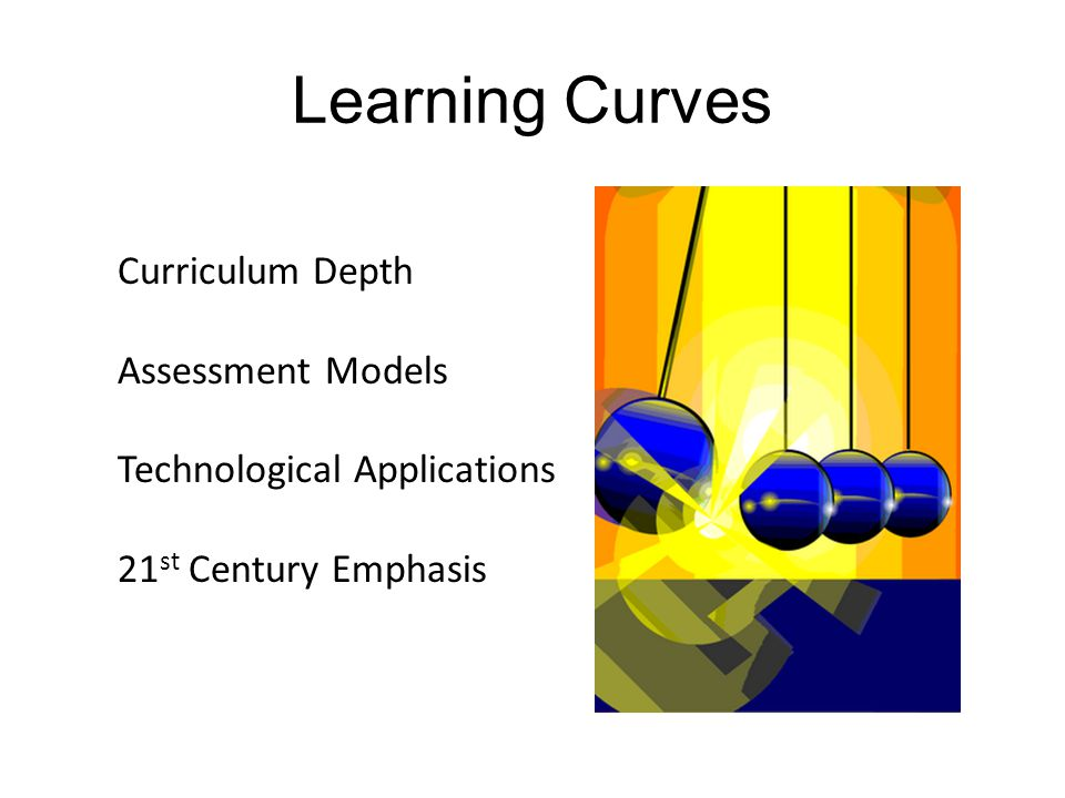 Learning Curves Curriculum Depth Assessment Models Technological Applications 21 st Century Emphasis