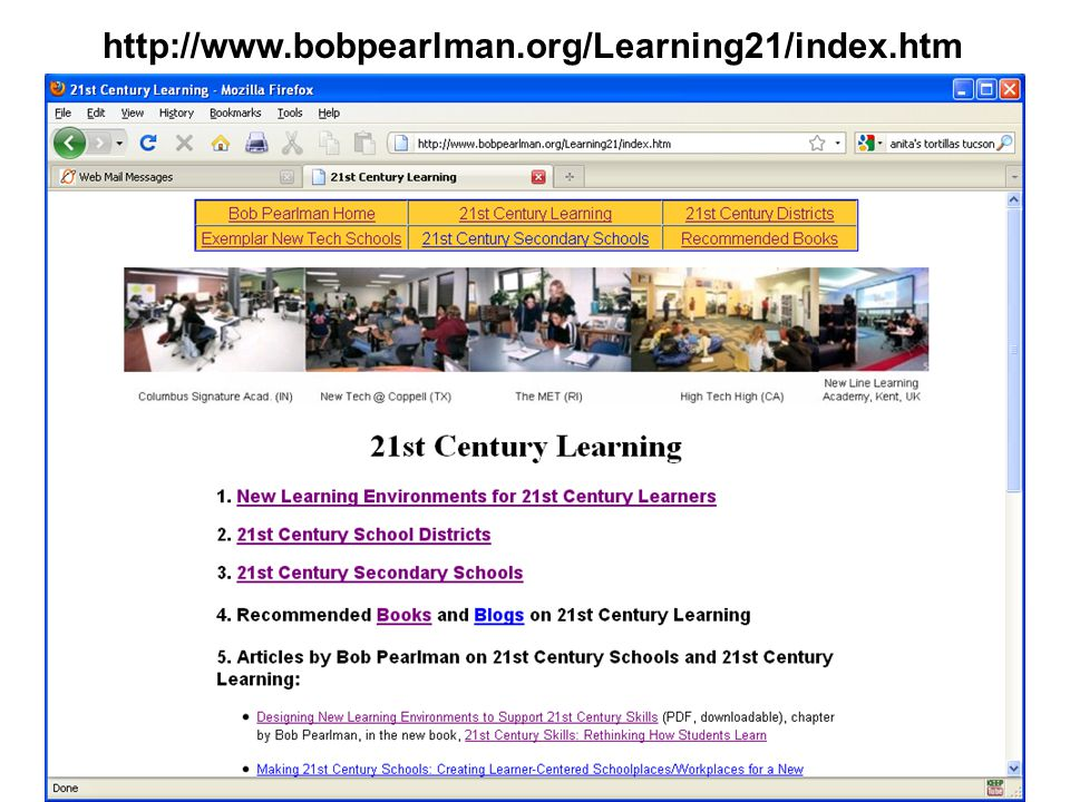 http://www.bobpearlman.org/Learning21/index.htm