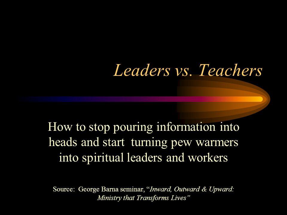 Leaders vs.