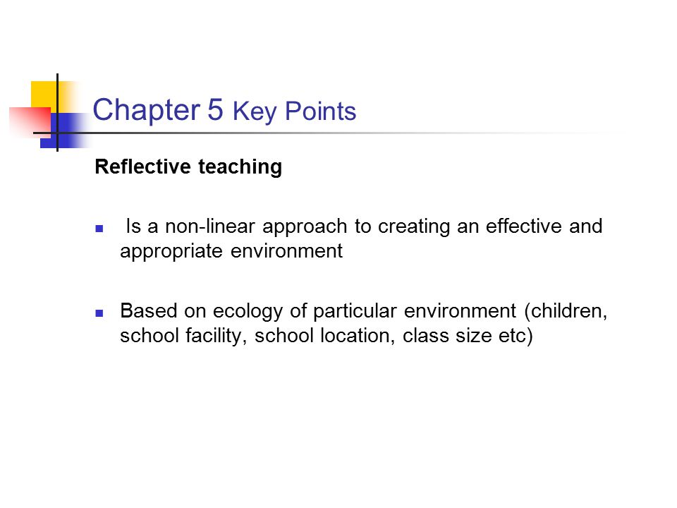 Defining Reflective/Invariant Teaching A Reflective Teacher One who can design and implement an effective educational program by adapting his or her teaching skills and techniques to the specific school situation An Invariant Teacher One who uses one approach in all teaching situations regardless of the class/school characteristics
