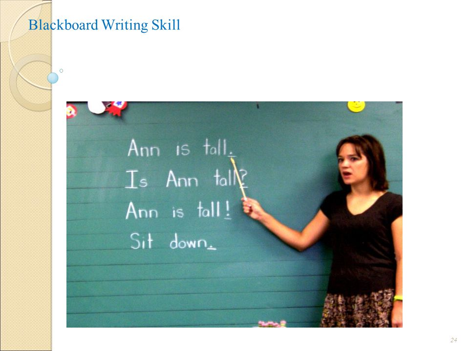 Blackboard Writing Skill 24