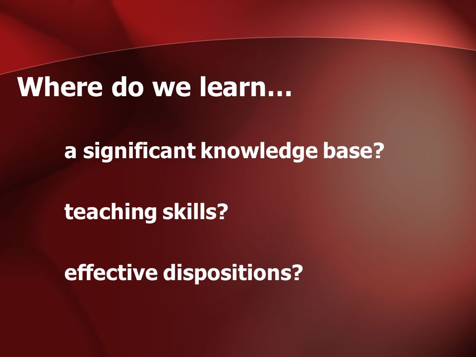 WHAT ARE DISPOSITIONS.