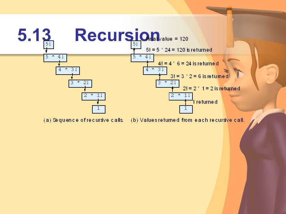 5.13Recursion