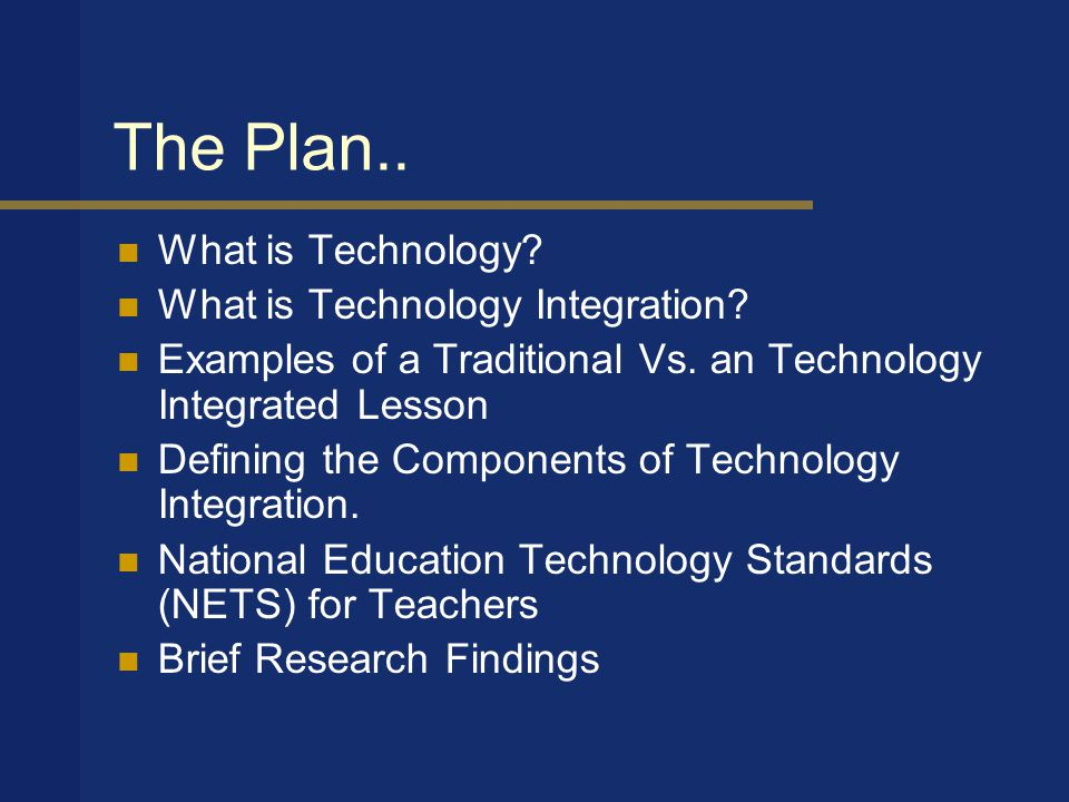 Views from the field: Technology is… The use of a computer -special ed.