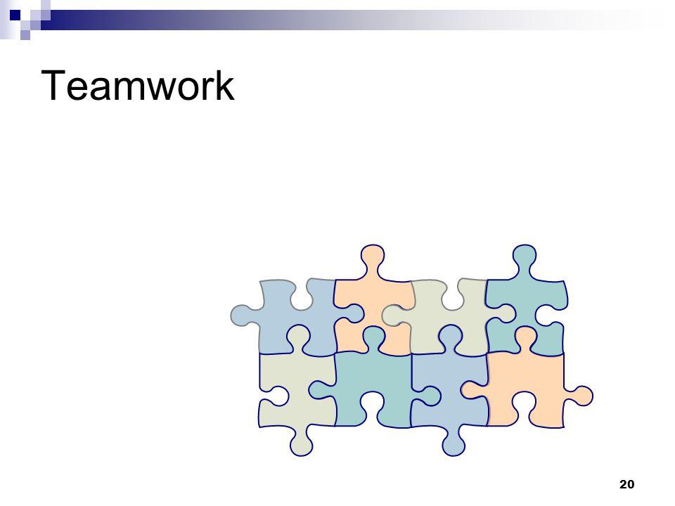 20 Teamwork